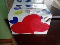 Коробка для валентинок в школу своими руками